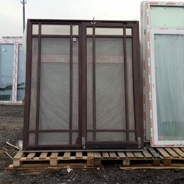 Окна - Окно, ПВХ Veka 58мм, 2220(В)х1940(Ш) мм, сдвижное, двухстворчатое, 2-кам стп, 0