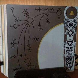 Игровые приставки - Ps4 pro god of war limited edition, 0