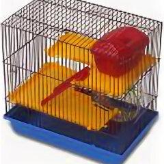 Клетки и домики  - ЗМ Клетка для грызунов 3-х этажная комплект , 0
