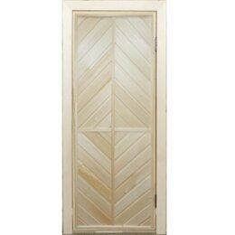 Двери - Дверь банная глухая ПГ-9, 0