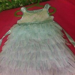 Платья и сарафаны - Детское платье с перьями ,размер 98-104, 0