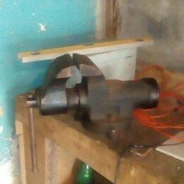 Тиски - Тиски ссср с круглой направляющей, 0