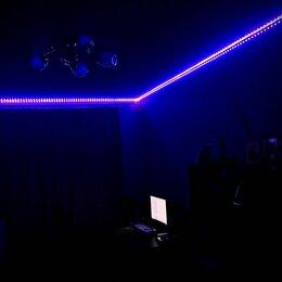 Светодиодные ленты - Умная светодиодная лента RGB 5050 6 и 12 метров, 0