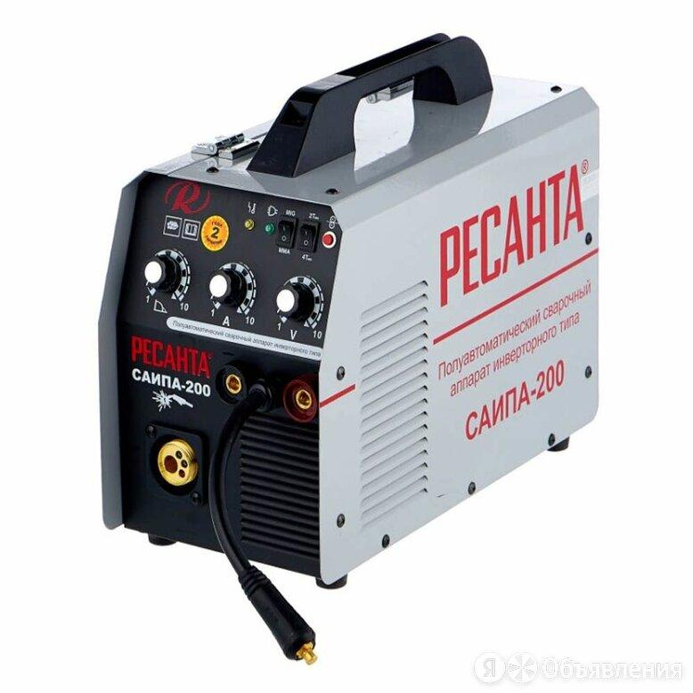 Сварочный аппарат РЕСАНТА САИПА-200 (MIG/MAG, MMA) по цене 25390₽ - Сварочные аппараты, фото 0
