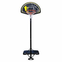 Стойки и кольца - Баскетбольная мобильная стойка DFC Stand 44HD2 112х72см HDPE, 0