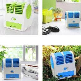 Промышленное климатическое оборудование - Настольный кондиционер-вентилятор HY-168, зелёный, 0