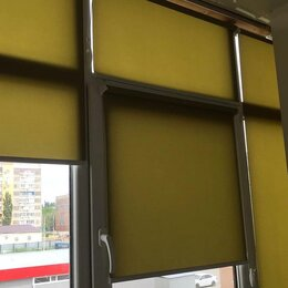 Римские и рулонные шторы - Жалюзи, окна установка, 0