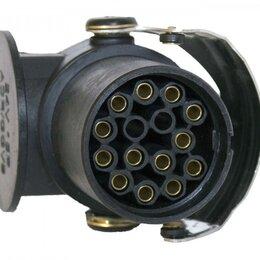 Электроустановочные изделия - Евроразъем абс (15 контактов / вилка), 0