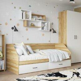 Кроватки - Кровать односпальная с двумя ящиками, 0