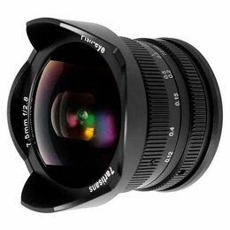Объективы - Широкоугольный объектив Canon 7artisans 7,5mm f2,8, 0