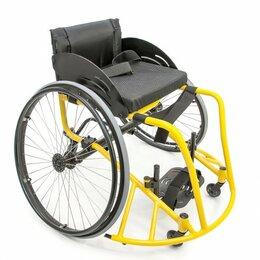 Стойки и кольца - Кресло-коляска для баскетбола «Центровой» FS 777L, 0