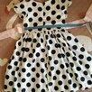 Детское нарядное праздничное платье в горошек  по цене 500₽ - Платья и сарафаны, фото 4