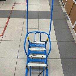 Санки и аксессуары - Санки детские тимка 5+ комфорт с колесом, 0