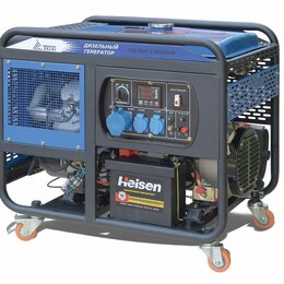 Электрогенераторы и станции - Дизель генератор TSS SDG 12000EHA с АВР, 0