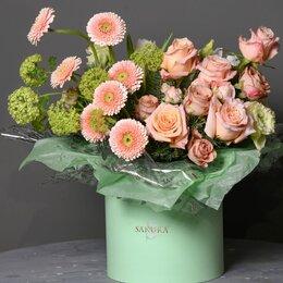 Цветы, букеты, композиции - Композиция «Солнечный цветок» - XL (50cм), 0