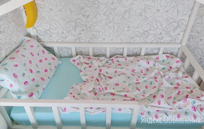 Муслиновое постельное белье  по цене 2500₽ - Постельное белье, фото 0