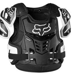 Спортивная защита - Защита панцирь Fox Raptor Vest - 2021г(L/XL черно/белый/L), 0