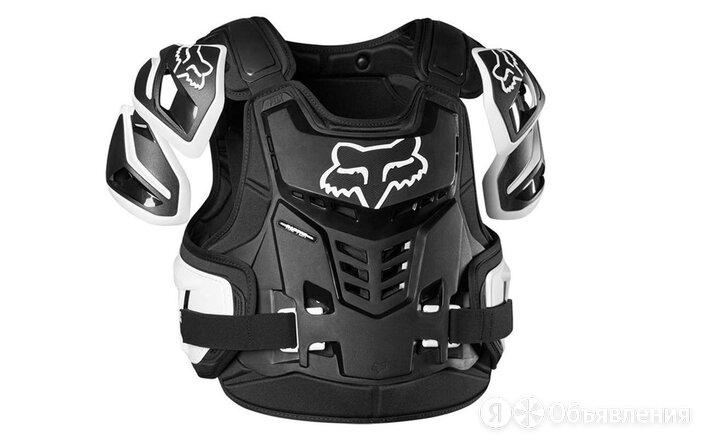 Защита панцирь Fox Raptor Vest - 2021г(L/XL черно/белый/L) по цене 19990₽ - Аксессуары и принадлежности, фото 0