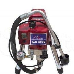 Малярные установки и аксессуары - Окрасочный аппарат AktiSpray AvS-3л/мин, 0