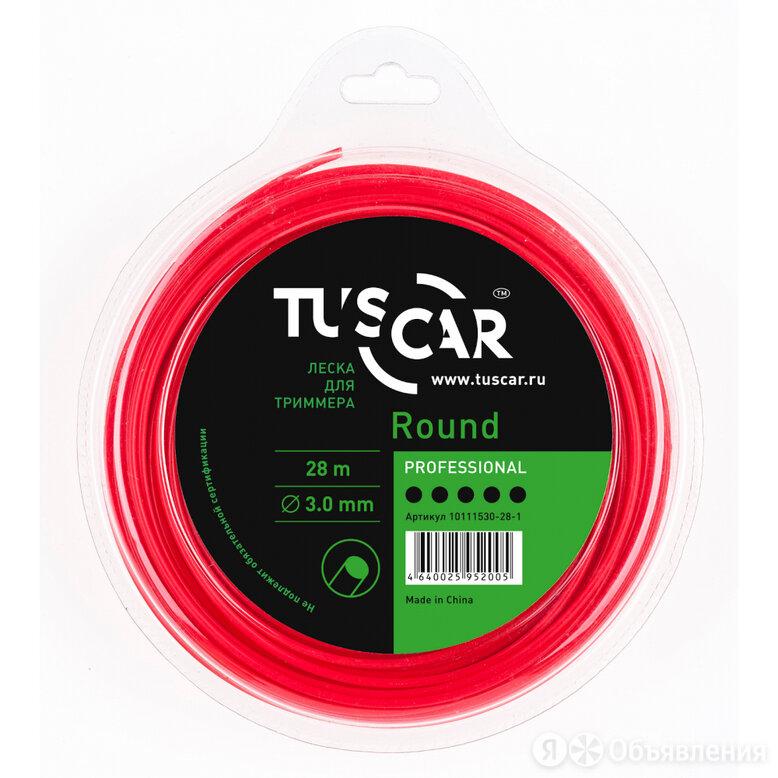 Леска для триммера TUSCAR Round Professional по цене 690₽ - Леска и ножи, фото 0