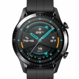 Умные часы и браслеты - Новые смарт-часы Huawei Watch GT2 чёрные, 0