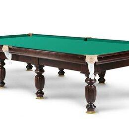 Столы - Бильярдный стол Береза/Сосна плита 40мм сукно Кинг, 0