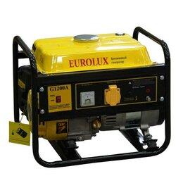 Электрогенераторы и станции - Бензиновый генератор eurolux G1200A, 0