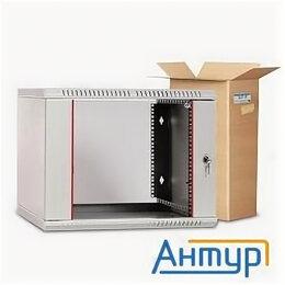 Прочее сетевое оборудование - ЦМО! Шкаф телеком. настенный разборный 9u (600х520) дверь стекло (ШРН-Э-9.500..., 0