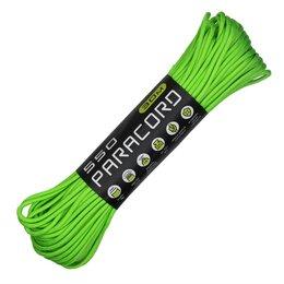 Зажимы - Шнур паракорд 550 CORD nylon 30м green, 0