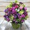 Интерьерная композиция из искусственных цветов по цене 2500₽ - Цветы, букеты, композиции, фото 2