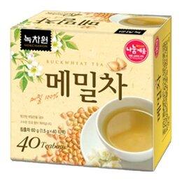 Продукты - Чай травяной гречишный Nokchawon, 40 п, 0