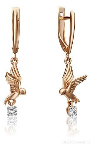 Серьги PLATINA Jewelry 02-4346-00-401-1110-03 по цене 19130₽ - Серьги, фото 0