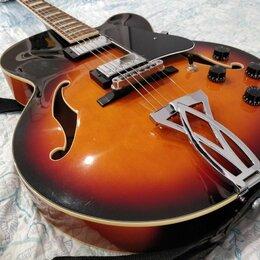 Электрогитары и бас-гитары - Электроакустическая гитара Ibanez AF75 BS, 0