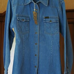 Блузки и кофточки - Джинсовая рубашка женская, 0