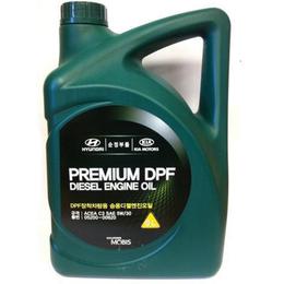 Масла, технические жидкости и химия - Масло моторное Premium DPF 5W-30 C3, 6L, 0