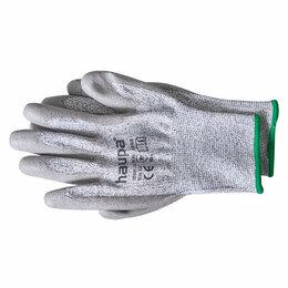 Средства индивидуальной защиты - Перчатки с полиуретановым покрытием 5 степень защ. размер 9 сер. (пара) ..., 0