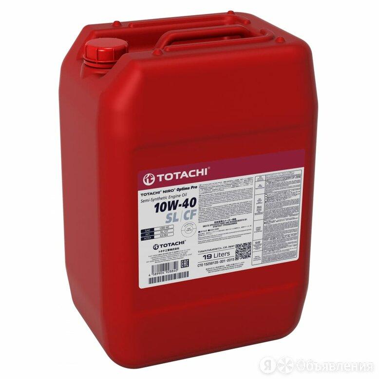 Моторное масло Totachi NIRO Optima PRO Semi-Synthetic 10W-40 SL/CF по цене 4993₽ - Масла, технические жидкости и химия, фото 0