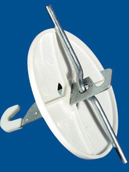 Анкерные болты - Розетка потолочная (нагрузка до 15 кг.) белый…, 0