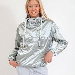 Куртки - Ветровка женская. Цвет св.серый. Stillini™, 0