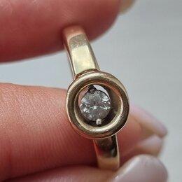 Кольца и перстни - Кольцо с  танцующим бриллиантом, 0