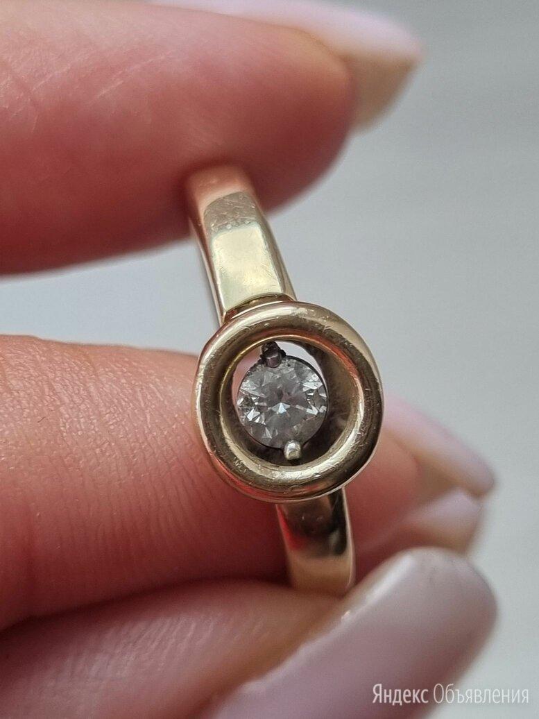 Кольцо с  танцующим бриллиантом по цене 50000₽ - Кольца и перстни, фото 0