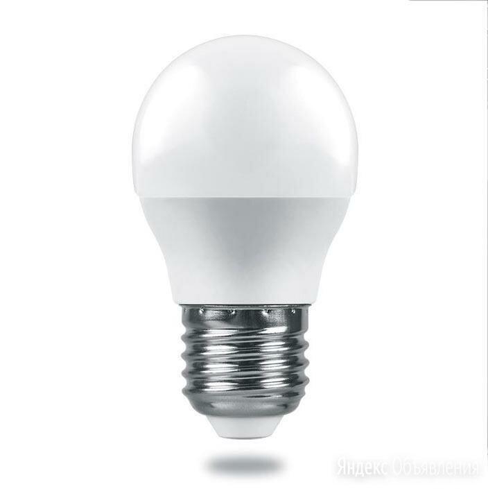 Лампа светодиодная Feron E27 7,5W 4000K Матовая LB-1407 38075 по цене 156₽ - Лампочки, фото 0