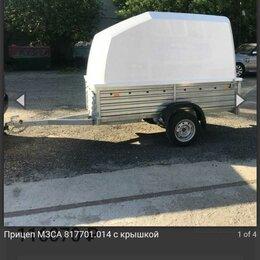 Прочее - Прицеп мзса 817701.014 off-road с пластиковой крышкой, 0
