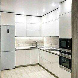 Мебель для кухни - Кухни модерн трехуровневые угловые, 0