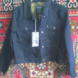 Куртки - Куртка джинсовая новая, 0
