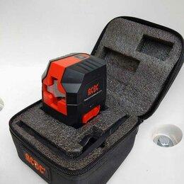 Измерительные инструменты и приборы - Лазерный уровень зелёный луч, 0