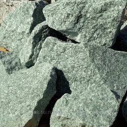 Камни для печей - Камень жадеит колотый отборный средний для бани, 0