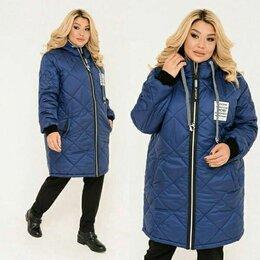 Куртки - Женская осенняя длинная куртка большого размера., 0