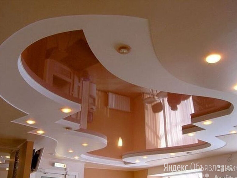Натяжные потолки по цене 70₽ - Потолки и комплектующие, фото 0