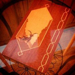 Настольные игры - нарды деревянные, 0
